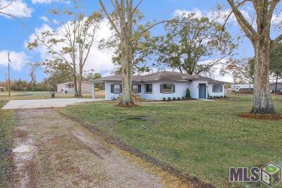 Gonzales Single Family Home For Sale: 43271 Bayou Narcisse