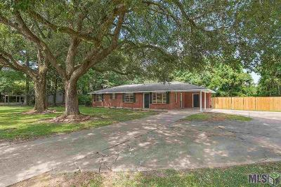 Zachary Single Family Home For Sale: 4121 Florida St