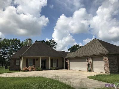 Zachary Single Family Home For Sale: 20103 Old Sceni E Flanacher Rd