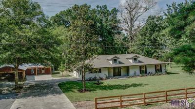 Prairieville Single Family Home For Sale: 43113 Moody Dixon Rd