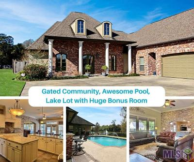 Gonzales Single Family Home For Sale: 15087 W Lakefront Dr