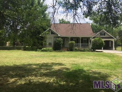 Gonzales Single Family Home For Sale: 14028 Mimosa Ln