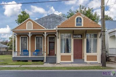 Donaldsonville Single Family Home For Sale: 608 Mississippi St