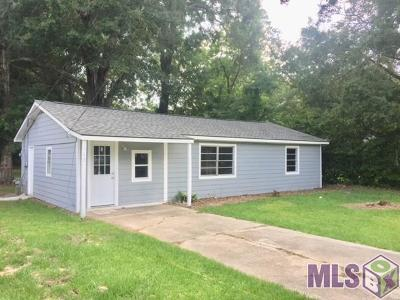 Zachary Single Family Home For Sale: 3948 Main St