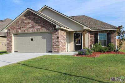 Denham Springs Single Family Home For Sale: 12182 Hidden Pass Dr