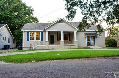 Baton Rouge Single Family Home For Sale: 431 Ogden Dr