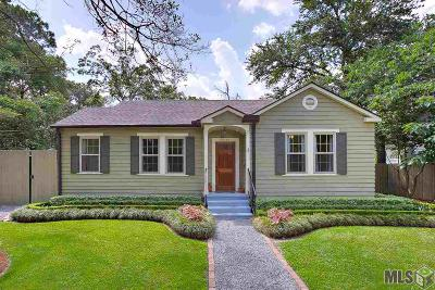 Baton Rouge Single Family Home For Sale: 2059 Cloverdale Ave