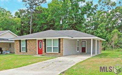 Denham Springs Single Family Home For Sale: 25587 Rosedown Dr