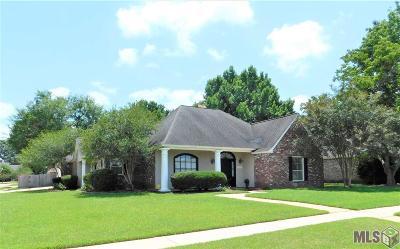 Zachary Single Family Home For Sale: 4394 Rose Garden Cir