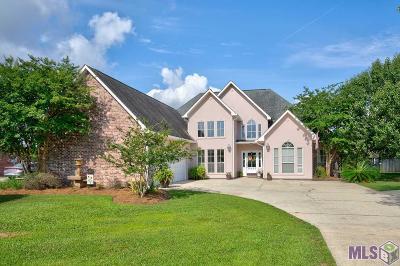 Denham Springs Single Family Home For Sale: 36403 Page Dr