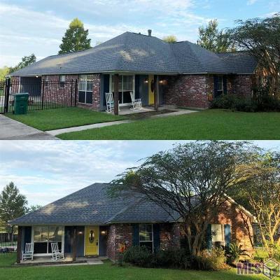 Denham Springs Single Family Home For Sale: 30779 Dunn Rd