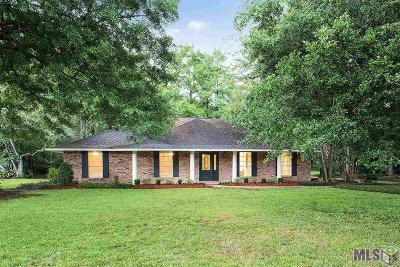 Denham Springs Single Family Home For Sale: 25791 Plantation Ave