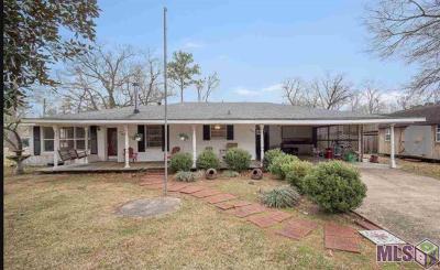 Denham Springs Single Family Home For Sale: 607 Maple St