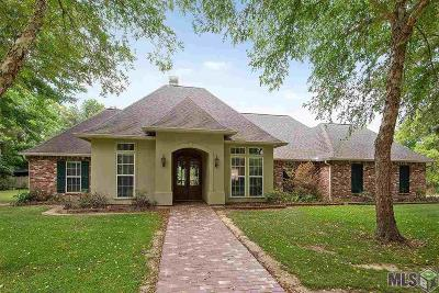 Denham Springs Single Family Home For Sale: 7320 Jeane Ln