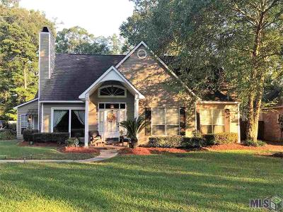 Baton Rouge Single Family Home For Sale: 18626 Wildlife Way Dr