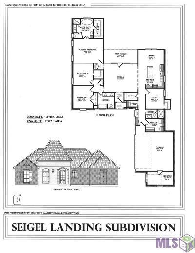 Denham Springs Single Family Home For Sale: 38388 Shelby Dr