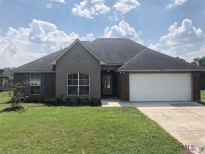 Denham Springs Single Family Home For Sale: 38437 Highland Terrace Ave