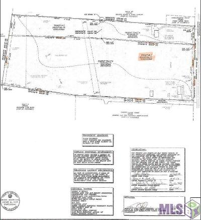 Zachary Residential Lots & Land For Sale: Tract B-1 Lower Zachary Rd