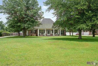 Denham Springs Single Family Home For Sale: 37474 Oak Hills Dr