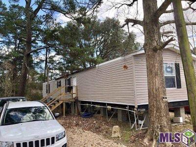 Denham Springs Single Family Home For Sale: 8580 Susie Cir