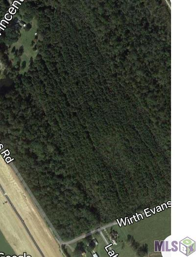 Prairieville Residential Lots & Land For Sale: 18080 Wirth Evans Rd