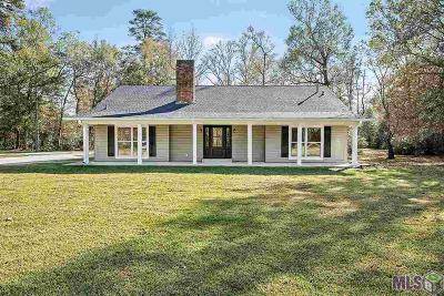 Denham Springs Single Family Home For Sale: 8460 Harris Rd