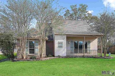Gonzales Single Family Home For Sale: 14342 Woodrun Blvd