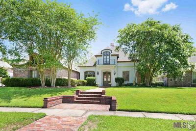 Baton Rouge Single Family Home For Sale: 19122 Bellerive Ct