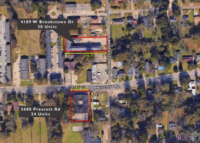 Baton Rouge Multi Family Home For Sale: 4189 W Brookstown Dr