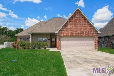 Denham Springs Single Family Home For Sale: 33841 Nicole Ln
