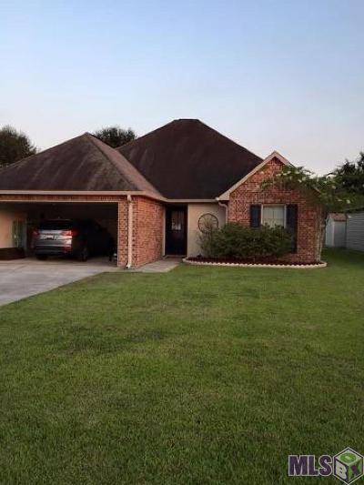 Denham Springs Single Family Home For Sale: 22798 Citation Dr