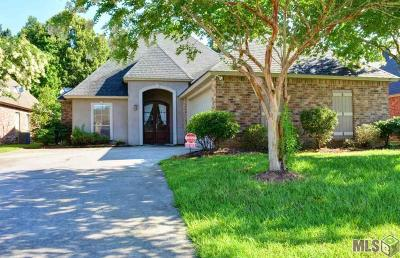 Denham Springs Single Family Home For Sale: 10109 Chanel Dr