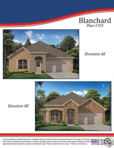 Zachary Single Family Home For Sale: 21329 Barnridge Dr
