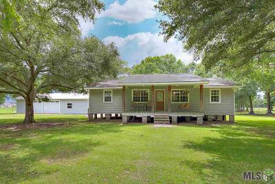 Denham Springs Single Family Home For Sale: 34385 Robbie Lee Dr