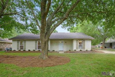 Denham Springs Single Family Home For Sale: 9132 Shadow Bluff Ave