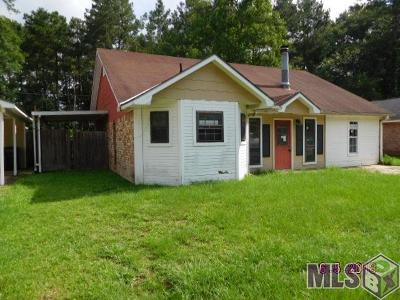Prairieville Single Family Home For Sale: 44122 Lake Village Rd