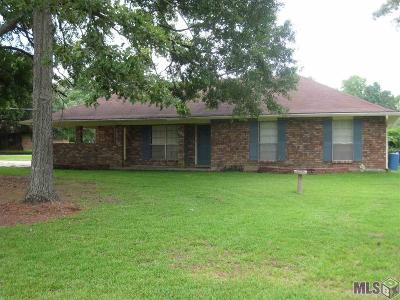 Prairieville Single Family Home For Sale: 18565 Hope Villa Dr