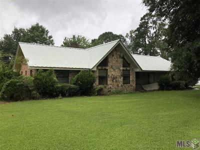Denham Springs Single Family Home For Sale: 7814 Amite Church Rd