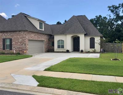 Denham Springs Single Family Home For Sale: 8638 Sandpiper
