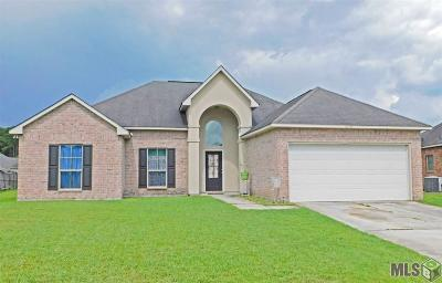 Denham Springs Single Family Home For Sale: 26124 Myrtlewood Ct