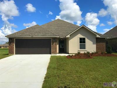 Denham Springs Single Family Home For Sale: 13778 Fig Dr
