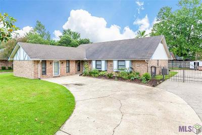 Baton Rouge Single Family Home For Sale: 5227 Bluewater Dr