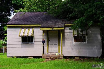 Baton Rouge LA Single Family Home For Sale: $23,000