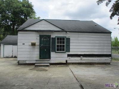Baton Rouge LA Single Family Home For Sale: $26,000