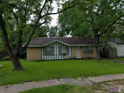 Baton Rouge LA Single Family Home For Sale: $79,900