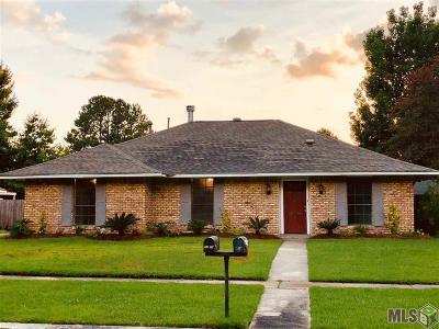 Baton Rouge LA Single Family Home For Sale: $205,000