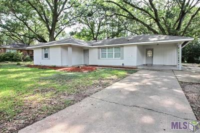 Baton Rouge LA Single Family Home For Sale: $155,900
