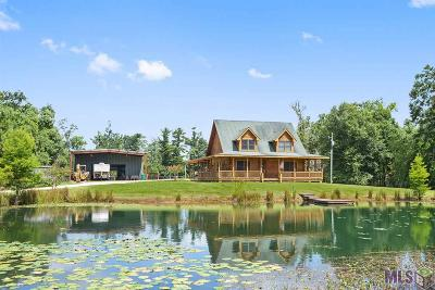 Denham Springs Single Family Home For Sale: 18350 Old Mill Settlement Rd