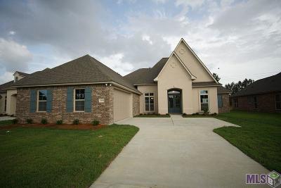Denham Springs Single Family Home For Sale: 34156 Osprey Ave