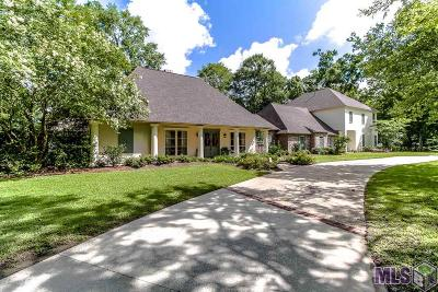 Baton Rouge Single Family Home For Sale: 17837 Creek Hollow Rd